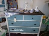Baby Blue Dresser/Changing Table