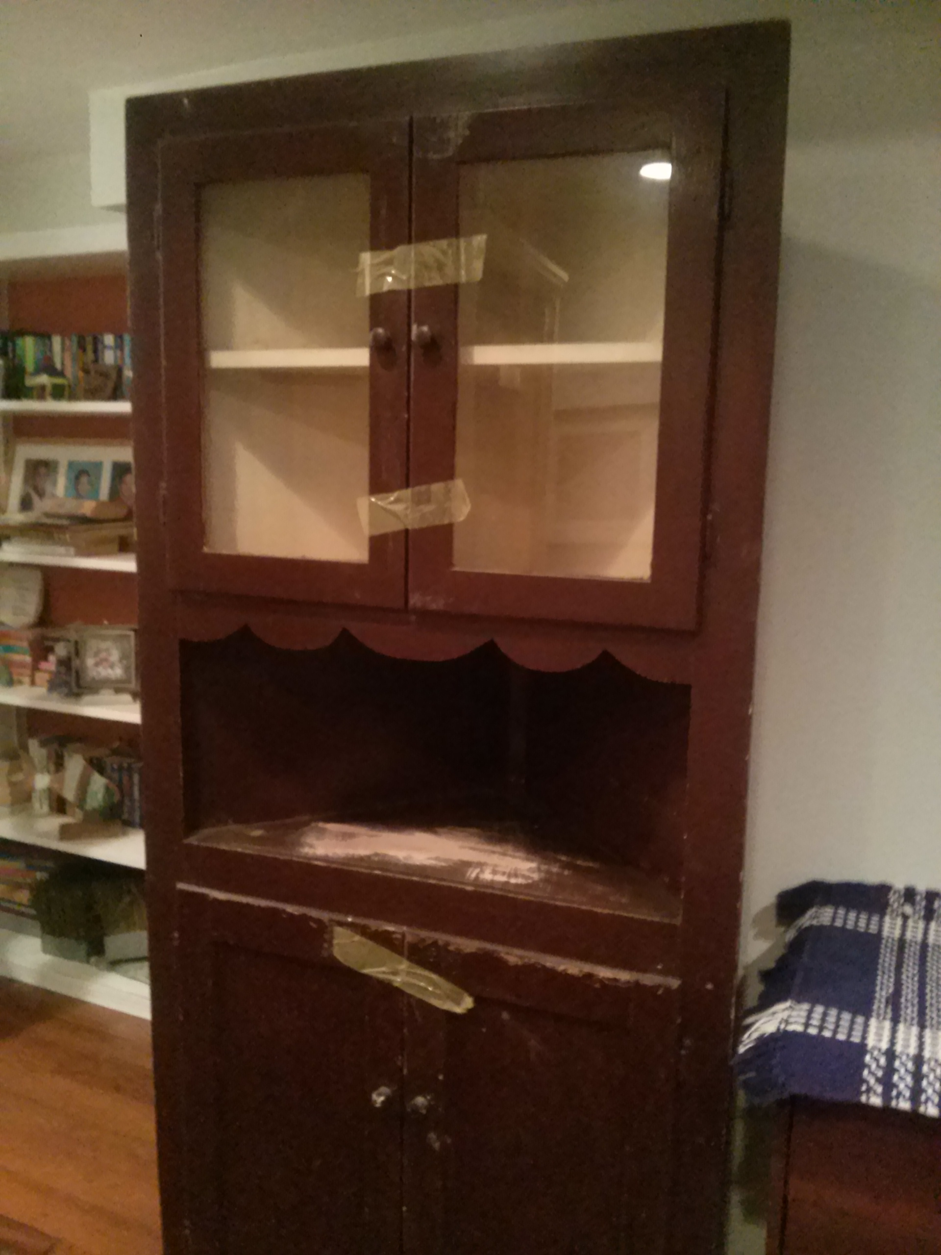 mahogany vintage sold or pair of cupboard cupboards curved corner cabinets shop