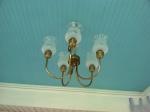 An antique light fixture for vintage charm!